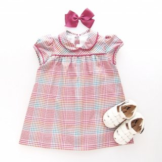 <img class='new_mark_img1' src='https://img.shop-pro.jp/img/new/icons14.gif' style='border:none;display:inline;margin:0px;padding:0px;width:auto;' />Amaia Kids - St. Germain dress (Red check)