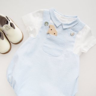 <img class='new_mark_img1' src='https://img.shop-pro.jp/img/new/icons14.gif' style='border:none;display:inline;margin:0px;padding:0px;width:auto;' />Amaia Kids - Archie romper (Vichy)