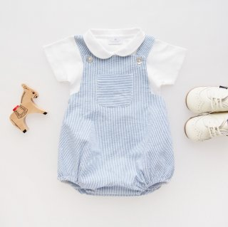<img class='new_mark_img1' src='https://img.shop-pro.jp/img/new/icons14.gif' style='border:none;display:inline;margin:0px;padding:0px;width:auto;' />Amaia Kids - Archie romper (Stripe)