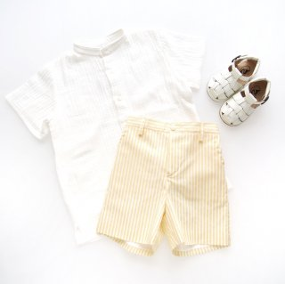 <img class='new_mark_img1' src='https://img.shop-pro.jp/img/new/icons14.gif' style='border:none;display:inline;margin:0px;padding:0px;width:auto;' />Amaia Kids - Gull short (Yellow)