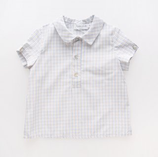 <img class='new_mark_img1' src='https://img.shop-pro.jp/img/new/icons14.gif' style='border:none;display:inline;margin:0px;padding:0px;width:auto;' />Amaia Kids - Oliver shirt (Blue&Yellow)