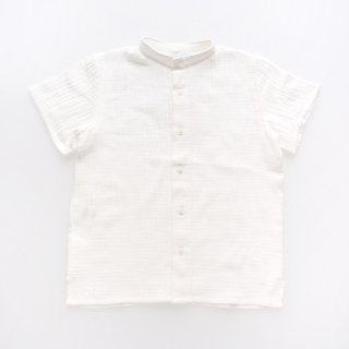 <img class='new_mark_img1' src='https://img.shop-pro.jp/img/new/icons14.gif' style='border:none;display:inline;margin:0px;padding:0px;width:auto;' />Amaia Kids - Victor shirt (White muslin)