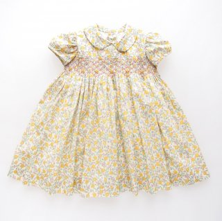 <img class='new_mark_img1' src='https://img.shop-pro.jp/img/new/icons14.gif' style='border:none;display:inline;margin:0px;padding:0px;width:auto;' />Amaia Kids - Shirley dress (Liberty yellow)