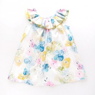 <img class='new_mark_img1' src='https://img.shop-pro.jp/img/new/icons14.gif' style='border:none;display:inline;margin:0px;padding:0px;width:auto;' />Laivicar / baby lai - Floral frill dress