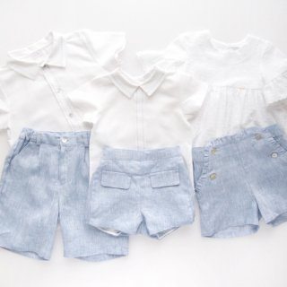 <img class='new_mark_img1' src='https://img.shop-pro.jp/img/new/icons14.gif' style='border:none;display:inline;margin:0px;padding:0px;width:auto;' />Laivicar / baby lai - Stich shirt and shorts set