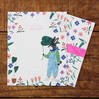 AikoFukawaレターセット Rabbit Letter