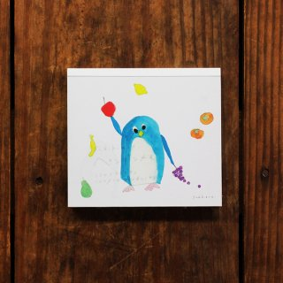 Subikiawa. ブロックメモ ペンギン
