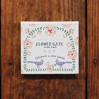 AikoFukawaブロックメモ FLOWER GATE