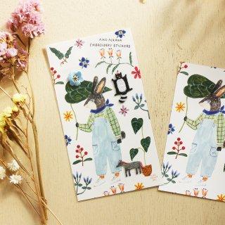 AikoFukawa 刺繍シール