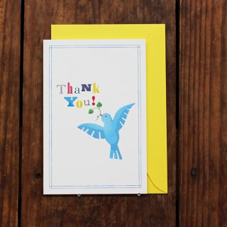 kaoru THANK YOU CARD TORI