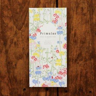エミリー・バーニンガム 一筆箋 Primulas