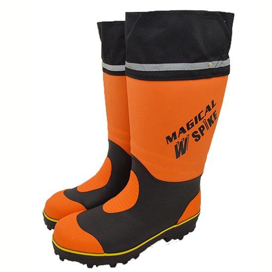 ※【F】MARUGO 丸五 マルゴ 先芯入りスパイク長靴 マジカルスパイク #900