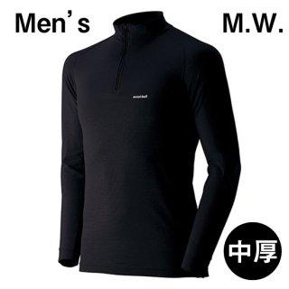 【L】モンベル/ジオライン/M.W.ハイネックシャツ MEN'S