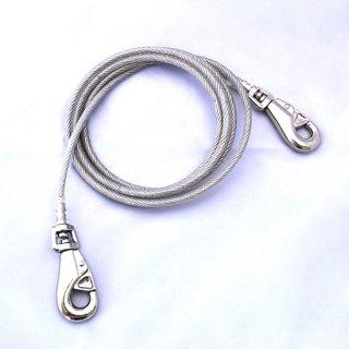 係留用ワイヤーロープ/ドッグキーパーEX/超大型犬対応(体重45kgまで)
