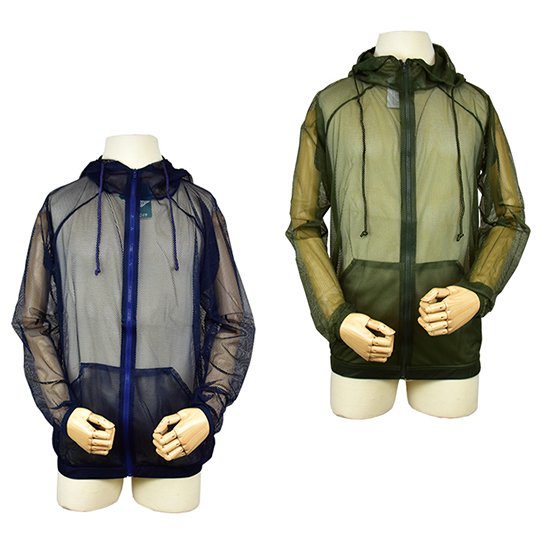 会員価格で新品10%オフ【W】BUG OFF バグオフ 着る虫よけ メッシュパーカー