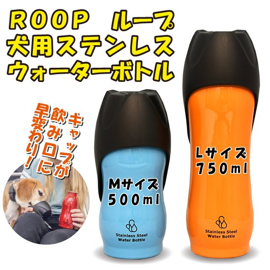 【AA】ROOP ループ/ステンレスウォーターボトル(M)