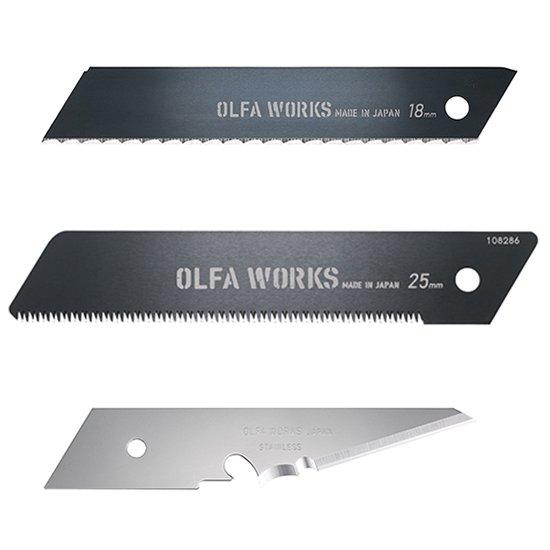 【AG】OLFA WORKS オルファワークス 替刃各種