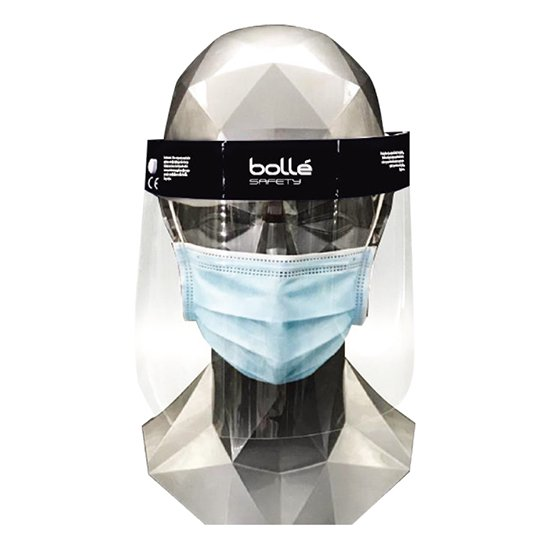 <img class='new_mark_img1' src='https://img.shop-pro.jp/img/new/icons5.gif' style='border:none;display:inline;margin:0px;padding:0px;width:auto;' />【Y】bolle' safety FACE SHIELD DFS2 ボレーセーフティ 使い捨てフェイスシールド DFS2 5個セット
