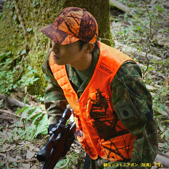 <img class='new_mark_img1' src='https://img.shop-pro.jp/img/new/icons5.gif' style='border:none;display:inline;margin:0px;padding:0px;width:auto;' />【E】HUNT& Hunting Mesh Vest ハントアンド ハンティングメッシュベスト