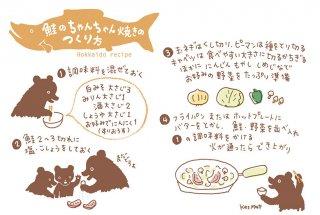 北海道レシピ ポストカード