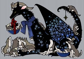 Yumino複製原画03『winterdragon』