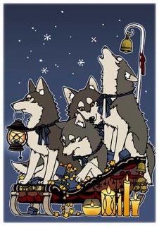 Yumino複製原画06『オオカミのソリ』