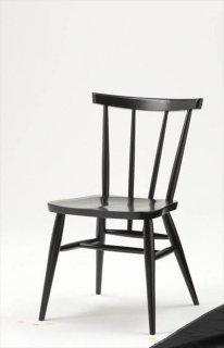 高山ウッドワークス WDC57 stick back chair/オーク・ブラック