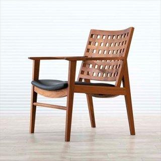 高山ウッドワークス W622 LD chair lattice/ウォールナット