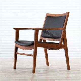 高山ウッドワークス W624 LD chair full/ウォールナット
