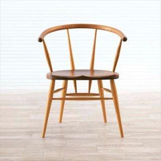 高山ウッドワークス W512 cafe chair/ウォールナット+オーク