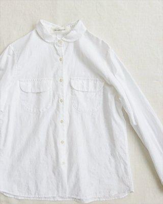 【TINA and SUSIE】バブルジャカード ポケットシャツ