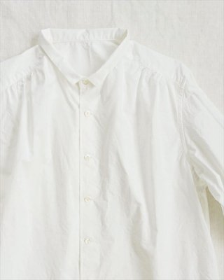 【pot-pourri】ハース チビ衿シャツ