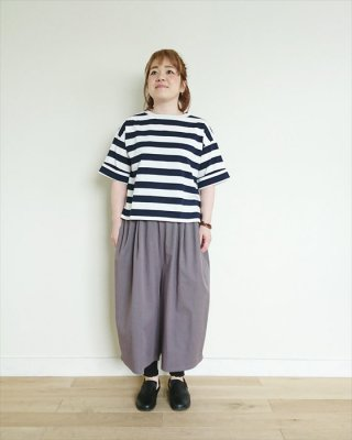 【blue willow】40/2コーマ天竺 5分袖Tシャツ