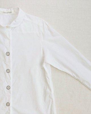 【TINA and SUSIE】ボタン刺繍 長袖シャツ