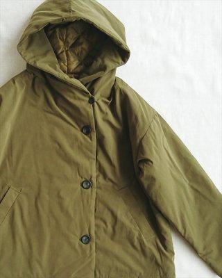 【blue willow】ボンディング フードジャケット