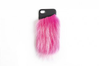 Raccoon iPhone7 / 8 Case<br>NEONPINK