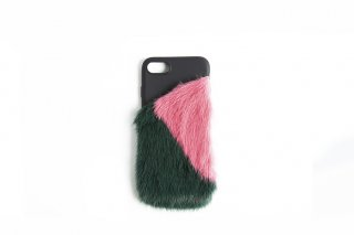 Mink iPhone7 / 8 Case<br>GREEN x PINK