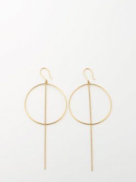SOPHISTICATED VINTAGE / Orbit earrings