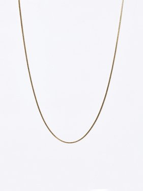 SOPHISTICATED VINTAGE / Solid chain necklace