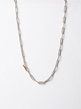 ARTEMIS / boned chain necklace