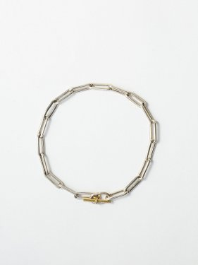 ARTEMIS / boned chain bracelet / 180mm