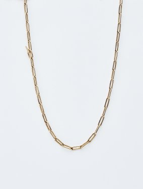 HELIOS / Boned chain necklace