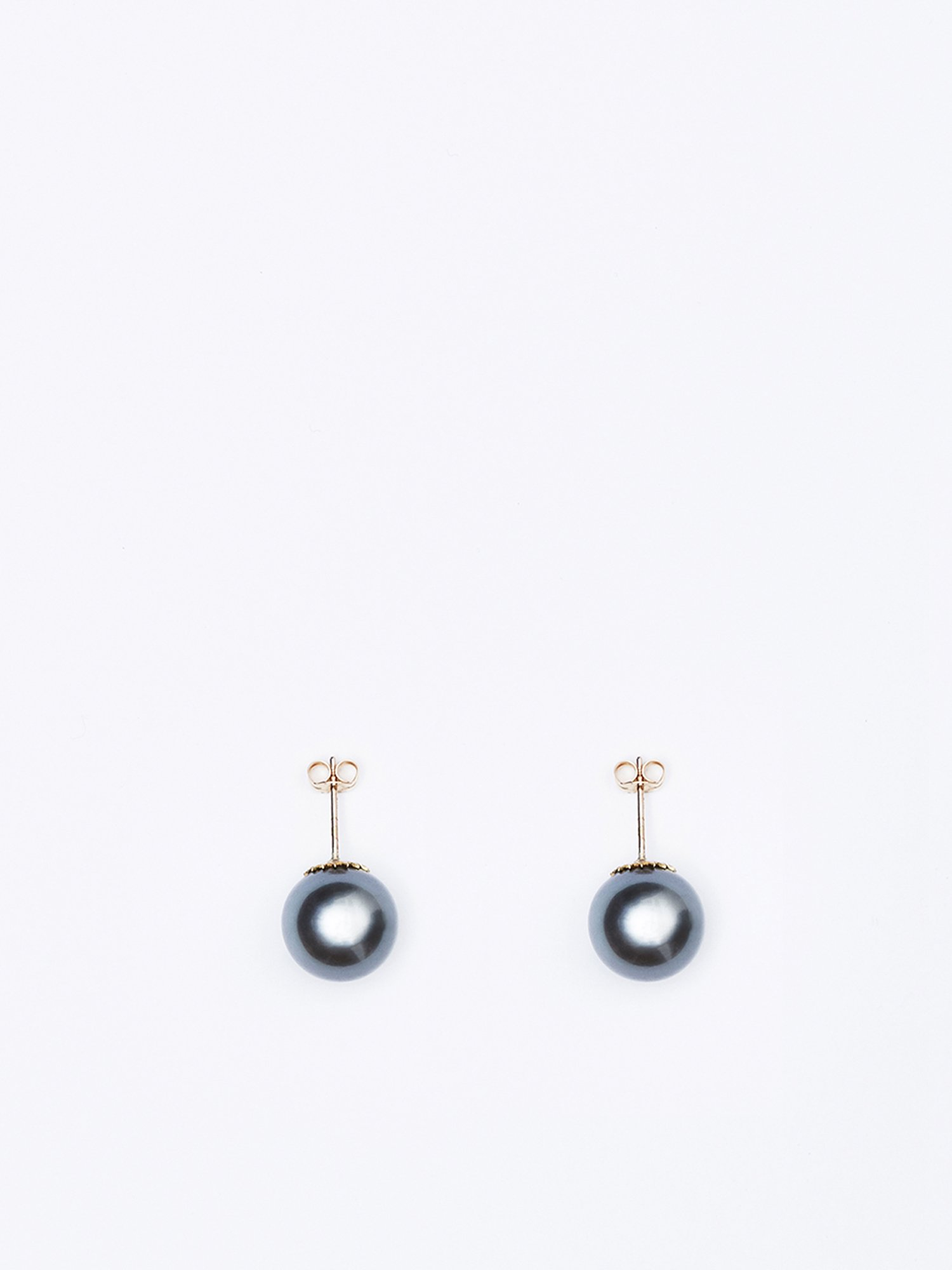 SOPHISTICATED VINTAGE / South sea pearl earrings