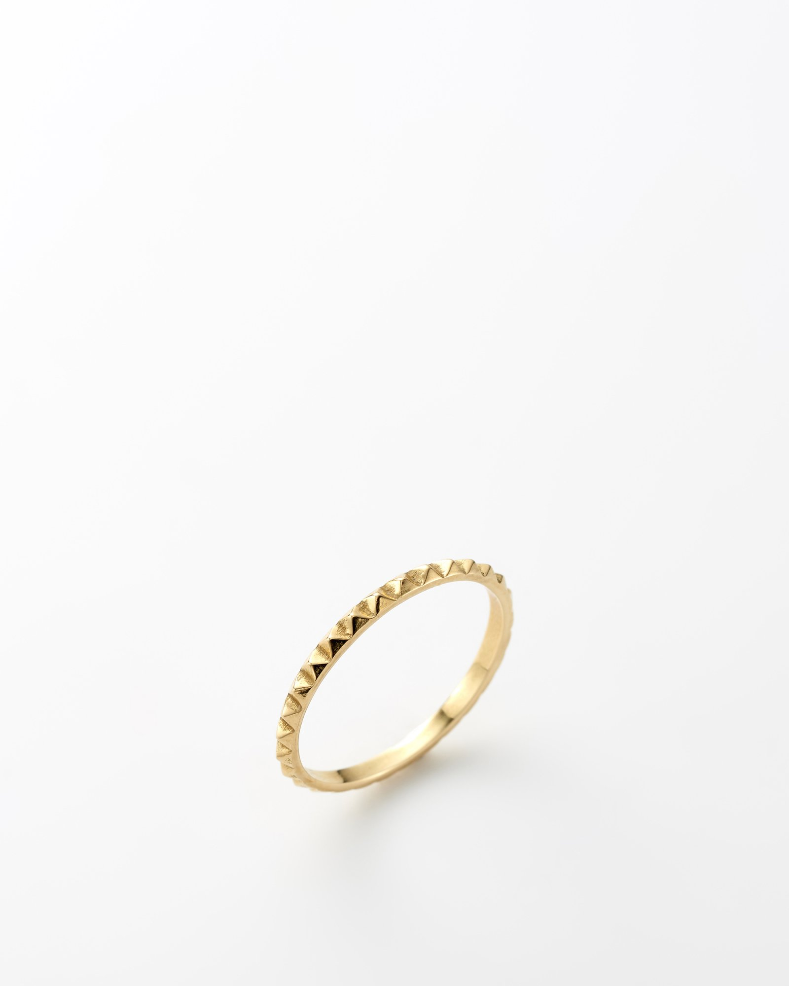 HELIOS / Diamond cut ring 9号 / 在庫商品