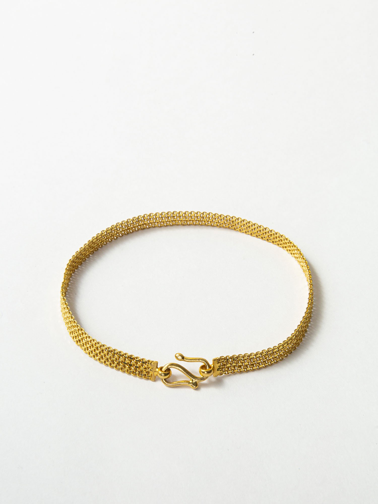 HELIOS / Chain kitting bracelet