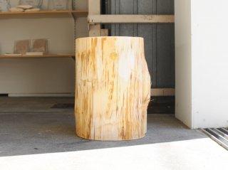 <Cul de Sac - JAPON/カルデサック-ジャポン>HIBA WOOD STOOL 丸太スツール H-40cm
