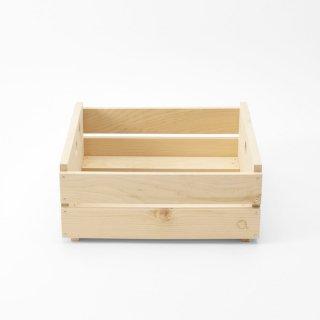 <Cul de Sac - JAPON/カルデサック-ジャポン>HIBA WOOD BOX [LARGE SIZE] ヒバウッドボックスL