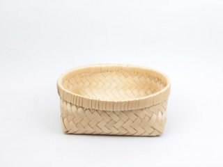 <Cul de Sac - JAPON / カルデサック-ジャポン>HIBA BASKET 青森ヒバ籠(かご) / 浅型-Medium