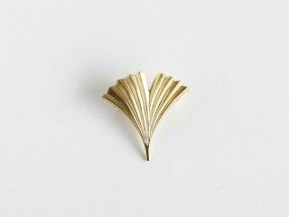 〈YURI MIYATA〉【Brooch】Leaf / Radial L brass