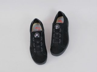 <ptarmigan/ターミガン>SUEDE COURT SHOES(Black)